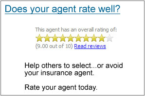 rate your insurance agent
